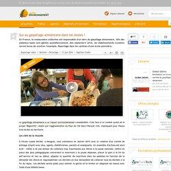 ACTU ENVIRONNEMENT 13/06/16 Sus au gaspillage alimentaire dans les écoles !
