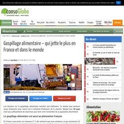 Gaspillage alimentaire - qui jette le plus en France et dans le monde