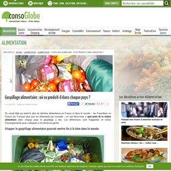 CONSOGLOBE 04/03/15 Gaspillage alimentaire : où se produit-il dans chaque pays ?