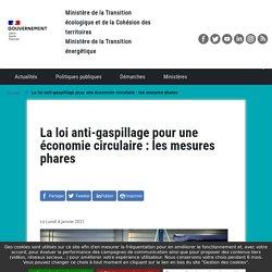 La loi anti-gaspillage pour une économie circulaire : les mesures phares