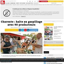 SUD OUEST 28/06/16 Charente : halte au gaspillage avec 90 producteurs
