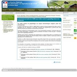 DRAAF RHONE ALPES 16/09/15 Lancement du Guide de l'UMIH pour lutter contre le gaspillage dans son restaurant