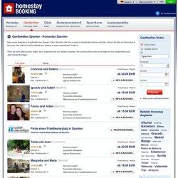 Gastfamilien Spanien, Homestay Spanien – homestaybooking