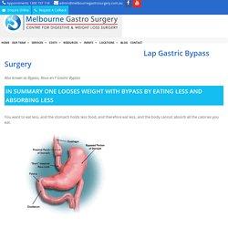 Roux-en-Y Gastric Bypass Surgery - Melbourne Gastro Surgery
