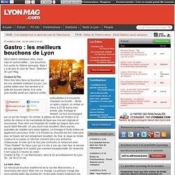 Gastro : les meilleurs bouchons de Lyon