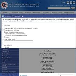 World Gastroenterology Organisation