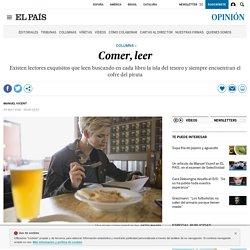 Gastronomía y literatura: Comer, leer