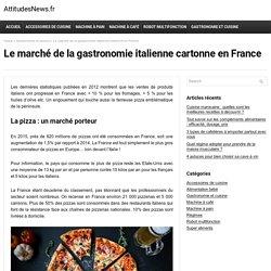 Le marché de la gastronomie italienne cartonne en France - AttitudesNews.fr