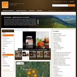 Gastronomie Auvergne