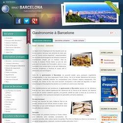 Gastronomie à Barcelone