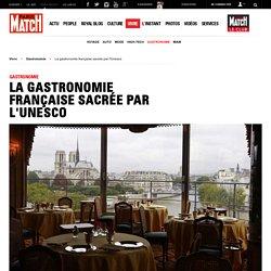 La gastronomie française sacrée par l'Unesco