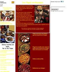 Espagne Les Tapas Gastronomie