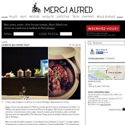 Uma, la gastronomie Nikkei débarque à Paris