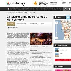 La gastronomie de Porto et du Nord (Norte)