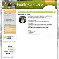 Gastronomie et produits du terroir. Pouilly-sur-Loire. Nièvre en Bourgogne