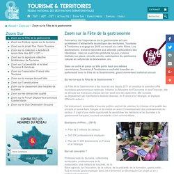 Zoom sur la Fête de la gastronomie - TOURISME & TERRITOIRES