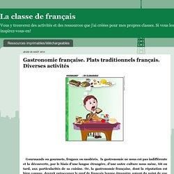 Les plats traditionnels français