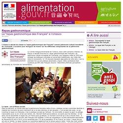 """Le """"repas gastronomique des Français"""" à l'Unesco"""