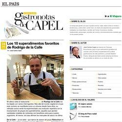 Gastronotas de Capel