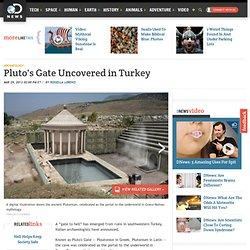 'Gate to Hell' found in Turkey