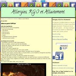 Gâteau au yaourt SANS plv - Allergies, R.G.O et Allaitement
