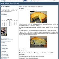 Gâteau aux amandes et citron : Dolce d'Amalfi