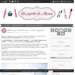 Gâteau aux amandes avec sa croûte craquante - Blog de cuisine créative, recettes / popotte de Manue