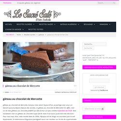 gâteau au chocolat de Mercotte