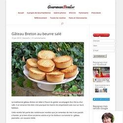 Gâteau Breton au beurre salé