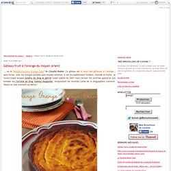 Gâteau fruit à l'orange du moyen orient