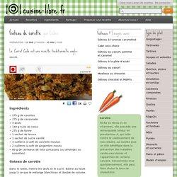 Gateau de carotte