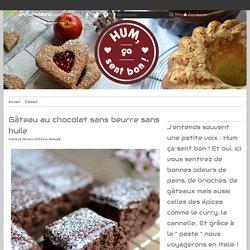 Gâteau au chocolat sans beurre sans huile