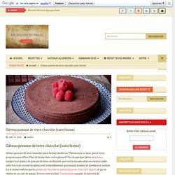 Gâteau pomme de terre chocolat (sans farine) · Aux délices du palais