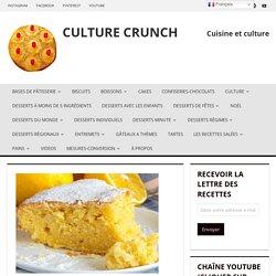 Gâteau au citron sans beurre et sans huile