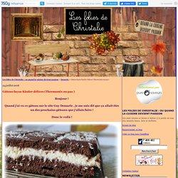 Gâteau façon Kinder délices (Thermomix ou pas )