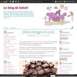 Gâteau économique avec un œuf - Le blog de kekeli