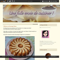Gâteau au fromage blanc -