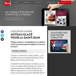 Gâteau glacé pour la Saint-Jean