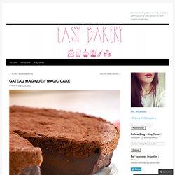 GATEAU MAGIQUE // MAGIC CAKE