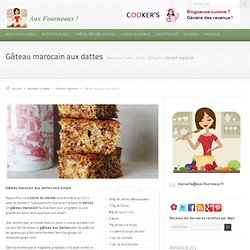 Gâteau marocain aux dattes