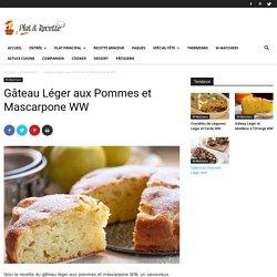 Gâteau Léger aux Pommes et Mascarpone