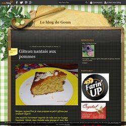 Gâteau nantais aux pommes - Le blog de Goun