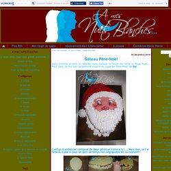 Gâteau Père-Noël