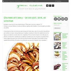 Gâteau pommes dattes cannelle – Sans sucres ajoutés, sans MG, sans gluten