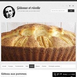 Gâteau aux pommes – Gâteaux et révolte