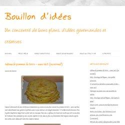 Gâteau de pommes de terre - sans GLO