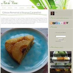 Gâteau Renversé à l'Ananas Caramélisé