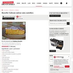 Gâteau suisse aux carottes