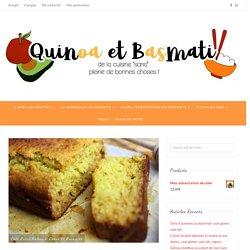 Gâteau tout tendre: miel & lupin - Quinoa et Basmati