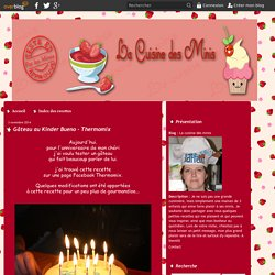 Gâteau au Kinder Bueno - Thermomix